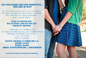 Uitnodiging 13 februari extern
