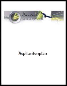 Kaft-Aspirantenplan